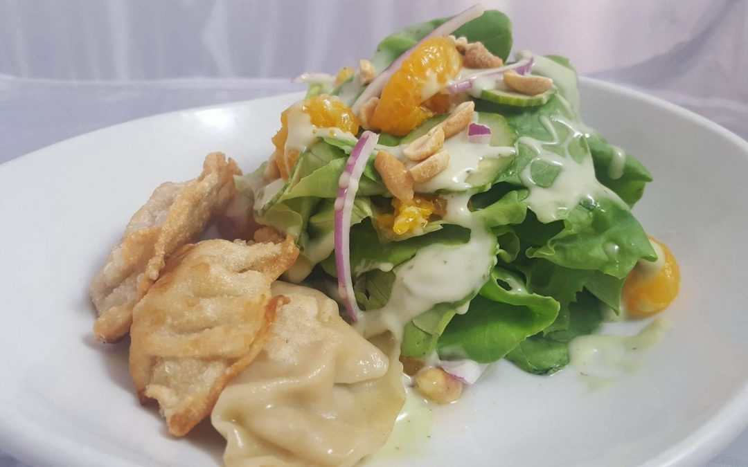 POT STICKER SALAD